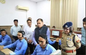 UP police have launched a major exercise to take on spread of fake news during elections.(HT File Photo)
