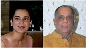 Kangana Ranaut had said that Pahlaj Nihalani got her to shoot in just a bathrobe for a film's promotion.