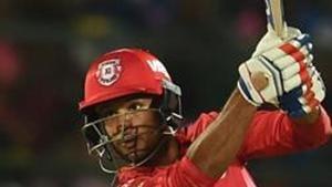 File image of KXIP cricketer Mayank Agarwal.(AFP)