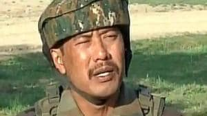 Leetul Gogoi , who qualified to become an officer in 2008 years after joining the army, was detained at the Srinagar hotel in 2018 after an altercation with the owner who had refused to allow a woman to enter the hotel to meet Gogoi.