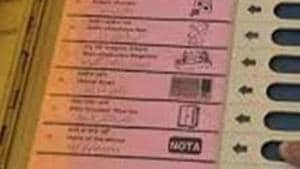 Lok Sabha elections 2019: Make space or we press NOTA, say Mumbaiites(HT File)