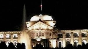 The Allahabad High Court has directed the chief secretary to ensure that action is taken against officials with illegal possession.(PTI/File Photo)