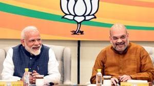 Congress moves Election Commission with complaints against PM Modi, Amit Shah(Sonu Mehta/HT PHOTO)