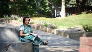 Shanti Swarup Bhatnagar Prize recipient Aditi Sen De, is the first woman to receive the award in physical sciences. She works on quantum computation.(Sheeraz Rizvi/HT Photo)