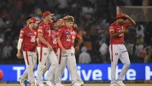 File image of KXIP players(PTI)