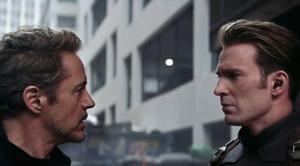 Avengers Endgame's Iron Man-Captain America trailer scene isn't in the movie, says director Joe Russo