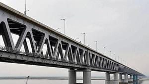"""Congress leader Rhituporna Konwar insisted most work happened during the Congress rule and people know it. """"If the BJP will benefit for completing the bridges, the Congress will also get votes for doing the work."""""""