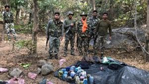The Maoist-affected districts of Gajapati, Malkangiri, Koraput, Rayagada and Nabarangpur are going to polls in the first phase of Lok Sabha election on April 11.(HT File)