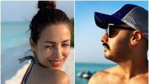 Actors Arjun Kapoor and Malaika Arora are often spotted at dinner dates and friends' gatherings.(Instagram)