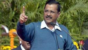 Delhi chief minister Arvind Kejriwal on Thursday alleged that names of BJP's opponents across India were removed from the voters' list.(Sushil Kumar/HT File PHOTO)