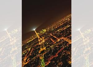 For the best view of Paris at night, go to the Montparnasse Tower(Saubhadra Chatterji)