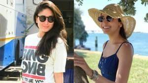 Anushka Sharma or Kareena Kapoor Khan: Who wore the flared jeans and casual shirt combination better. See pics