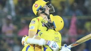 Chennai Super Kings beat Rajasthan Royals in last-over thriller