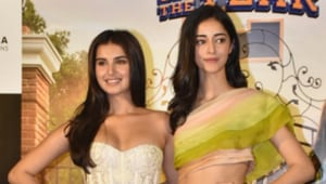 Student Of The Year 2: Ananya Panday and Tara Sutaria stun at the SOTY2 trailer launch event. See pics