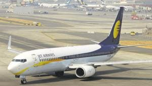 Jet Airways, on Thursday, cancelled all west-bound long-haul international flights, including those to London, Paris and Amsterdam.(Mint File Photo)