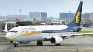 More than a thousand pilots of debt-laden Jet Airways will not fly from Monday(Mint File Photo)