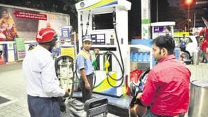 Petrol price up 6 paise, diesel by 7 paise on Sunday