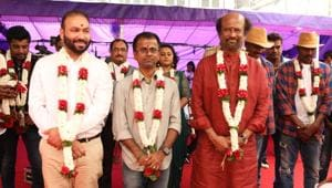 Rajinikanth is currently busy filming for Darbar in Mumbai.