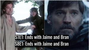 9 scenes in Game of Thrones premiere were exact replicas of series' first episode. Did you spot them all?
