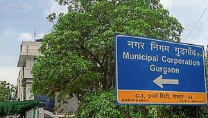 Following the discovery of illegal registry, the MCG had decided to freeze the registry of all of its 26,000 acres of land in the city to ensure that it cannot be illegally transferred to any private or government organisation.(HT Photo)