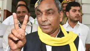 The Suheldev Bhartiya Samaj Party (SBSP), an ally of the BJP in Uttar Pradesh, will contest on 39 Lok Sabha seats separately.(PTI)
