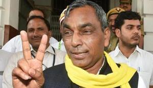 """UP BJP chief Mahendra Nath Pandey said, """"There is no ulterior motive in getting SBSP to contest election on our symbol from Ghosi. It is just that the chances of win would be certain on our symbol,"""" he said.(PTI FILE PHOTO)"""