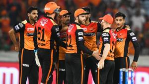 With Sunrisers taking on Chennai Super Kings next, the team management will be looking at the other batsmen to provide support to the in-form opening duo.(AFP)