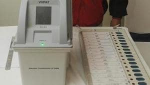 In the state with 42 Lok Sabha seats, polling has already been held at two constituencies in the first phase on April 11 and three more will go to polls on Thursday.(HT PHOTO)