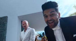 Guru Randhawa-Pitbull song Slowly Slowly brings the party to town. Watch video
