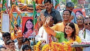 Lok SabhaElections 2019 :Back from 48-hr poll ban, Maneka Gandhi wants Sultanpur renamed Kushbhawanpur