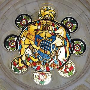 This former English prof now specialises in restoring heritage stained glass