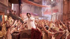 A scene from the movie Kalank
