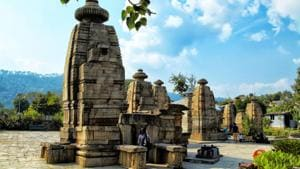 The 12th-century Baijnath temple complex in Garur near Kausani is believed in the Hindu tradition to be the site where the deities Shiva and Parvati got married(Photo: Shutterstock)