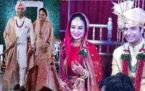 Sharad Malhotra-Ripci Bhatia wedding: Couple ties the knot in twin ceremonies, see pics and videos