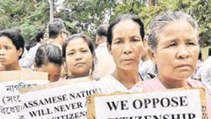 Polling will be held for the remaining four out of Assam's 14 Lok Sabha and one of Tripura's two seats in the third phase of the ongoing national elections on Tuesday.(AFP)