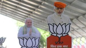 The BJP has named its candidate for the Ghosi Lok Sabha seat in UP after waiting for its ally SBSP to accept its offer of contesting the Lok Sabha poll on its symbol from this constituency.(AFP)