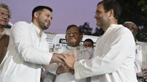 'No rift, absence from Rahul's rallies part of strategy': Tejashwi Yadav
