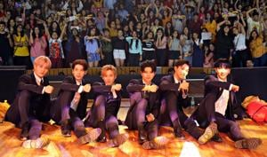 It's our dream to perform near the Taj Mahal, says K-pop group IN2IT