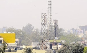MCG commissioner Yashpal Yadav said the municipal agency is trying to regularise all mobile towers in the city.(HT Photo)