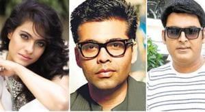 The Kapil Sharma Show: Karan Johar roasts Kareena Kapoor for her love of gossip, Kajol terms him a show-off