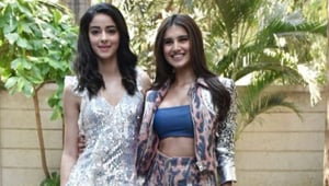 SOTY 2: Ananya Panday and Tara Sutaria are loving the chunky sneaker trend. See pics