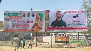BJP candidate gets ECnotice for using Abhinandan's posters during Modi rally