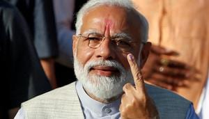 'Voter ID more powerful than IED', says PM Modi after casting vote
