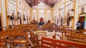 Sri Lankan President Maithripala Sirisena has asked the police chief and defence secretary to quit following the Easter Sunday suicide bomb attacks on churches and luxury hotels that killed 359 people(REUTERS)