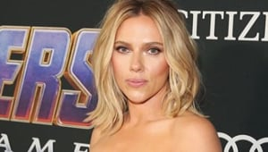Avengers Endgame: Scarlett Johansson's edgy thigh-high slit dress is a head turner. See latest pics