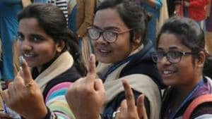 From holding mock polls to composing rap songs to urge voters to cast their ballots, schoolchildren from the city are trying their best to create awareness about the elections on Monday.