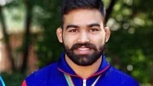 Gurpreet had to be satisfied with a second spot finish after being handed a 0-8 defeat by Hyeonwoo Kim of Korea.(Twitter)