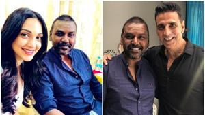 Akshay Kumar and Kiara Advani begin shooting for Kanchana's Hindi remake called Laaxmi Bomb.(Twitter)