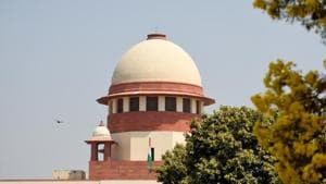 """The bench, which also comprised Justices Deepak Gupta and Sanjiv Khanna, was hearing the petition challenging the selection process and evaluation method adopted in the examination on the grounds of being """"unreasonable, arbitrary and malafide"""".(Amal KS/HT PHOTO)"""