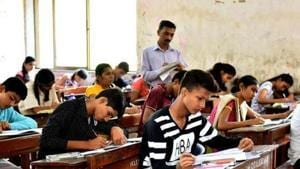 HP Board 10th Results 2019 declared: The Himachal Pradesh Board of School Education (HPBoSE) on Monday declared the result of Class 10 exams of the state board.(Bachchan Kumar/HT file)